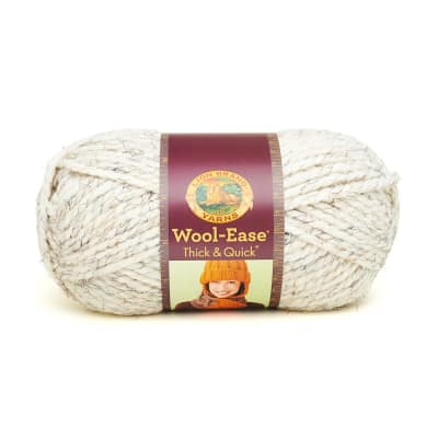 Lion Brand Wool-Ease Thick & Quick Yarn (402) Wheat