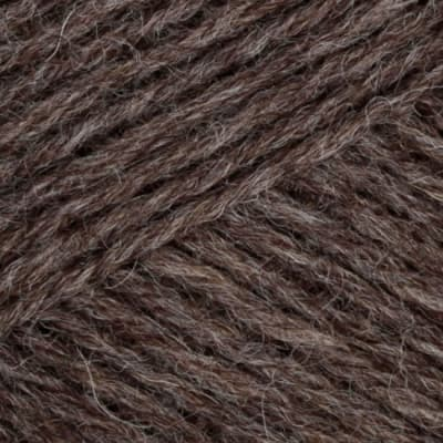 Lion Brand Fisherman's Wool Yarn (125) Brown Heather