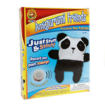 Lion Brand Amigurumi Friends With Sound Pookie The Panda