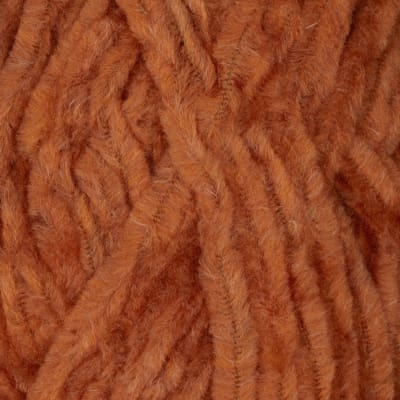 Lion Brand Chenille Yarn (134) Terracotta