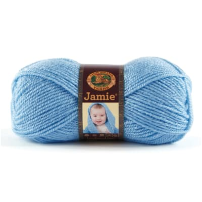 Lion Brand Jamie Yarn (100) Blue Bonnet