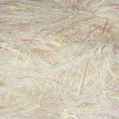 Martha Stewart Glitter Eyelash Yarn (500) Crystal