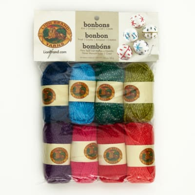 Lion Brand BonBons Yarn Pack Celebrate