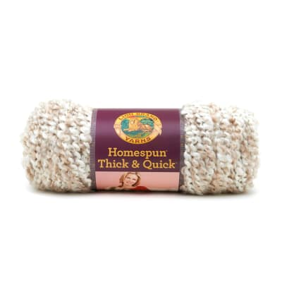 Lion Brand Homespun Thick & Quick Yarn (412) Pearls
