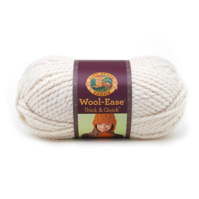 Lion Brand Wool-Ease Thick & Quick Yarn (308) Starlight