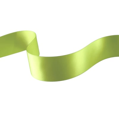 "1 1/2"" Double-sided Satin Ribbon Celery"