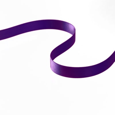 "3/8"" Double-sided Satin Ribbon Violet"