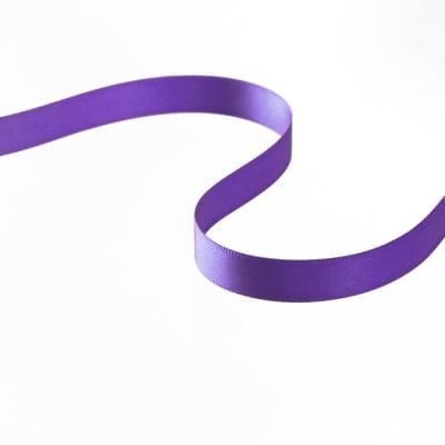 "3/8"" Double-sided Satin Ribbon Light Purple"