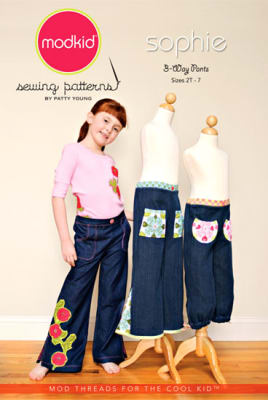 Modkid Sophie 3-Way Pants Pattern