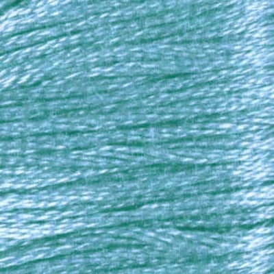 Anchor Six Strand Embroidery Floss 8.75 Yard Skein (1062) Teal  Very Light