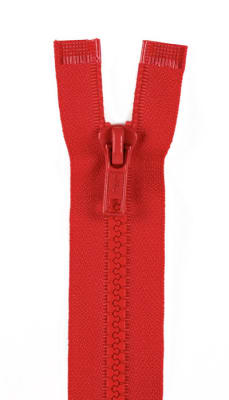 "Sport Separating Zipper 18"" Atom Red"
