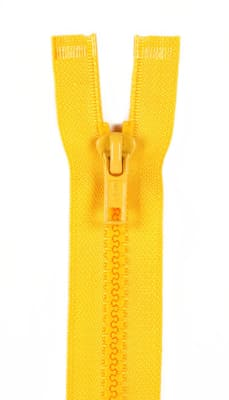 "Sport Separating Zipper 18"" Spark Gold"