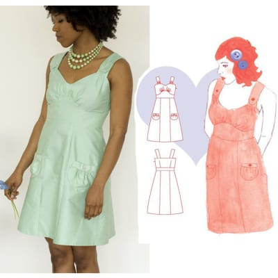 Colette Parfait Dress Pattern