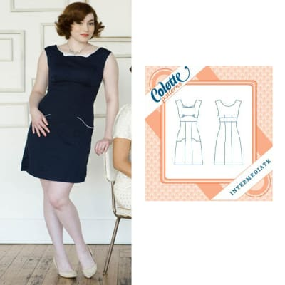 Colette Rooibos Dress Pattern