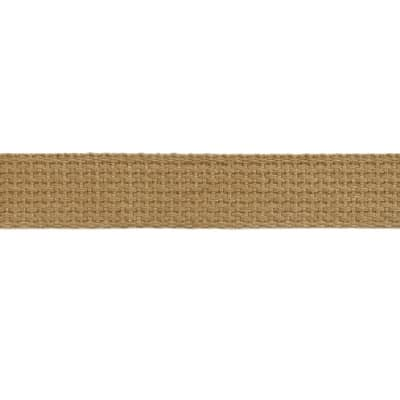 Cotton Webbing 1'' Tan