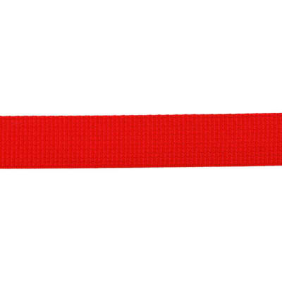 Polyester Webbing 1'' Red