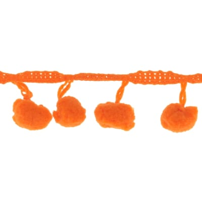 Riley Blake 1/2'' Regular Pom Pom Trim Orange
