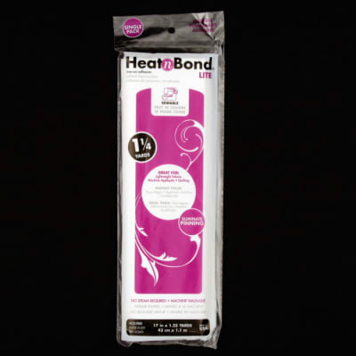"Heat'n Bond 3522 Lite Iron-On Adhesive 17"" x 1.25 Yards"