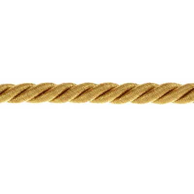 "Expo 3/8"" Holly Cord Trim Metallic Gold"
