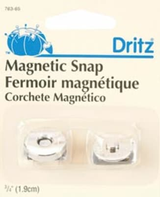 "3/4"" Magnetic Snap Nickel"