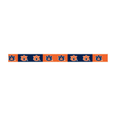 5/8'' Grosgrain Ribbon Auburn University Ribbon, 3 Yd Roll