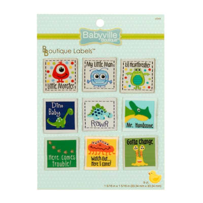 Babyville Boutique Labels Boy Design