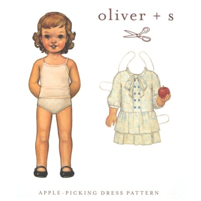 Oliver + S Apple Picking Dress Pattern Size 5-12