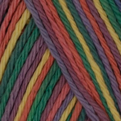 Lily Sugar 'n Cream Yarn Ombre (00200) Rainbow Bright
