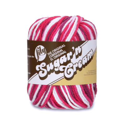 Lily Sugar 'n Cream Yarn Ombre (02707) Love