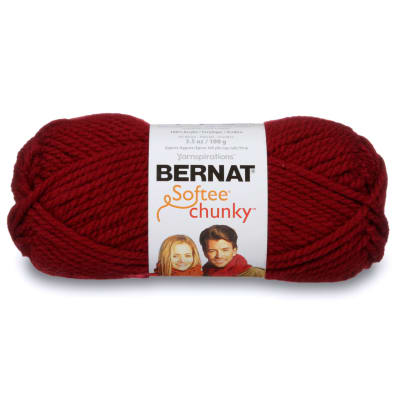 Bernat Softee Chunky Yarn (28532) Wine