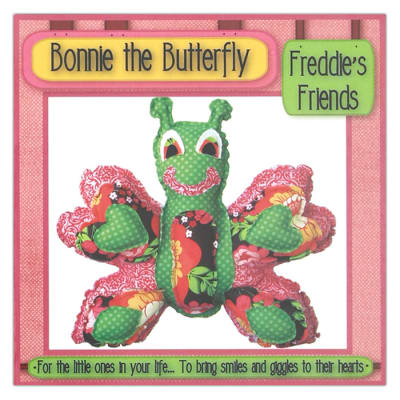 Freddie's Friends Bonnie the Butterfly Toy Pattern