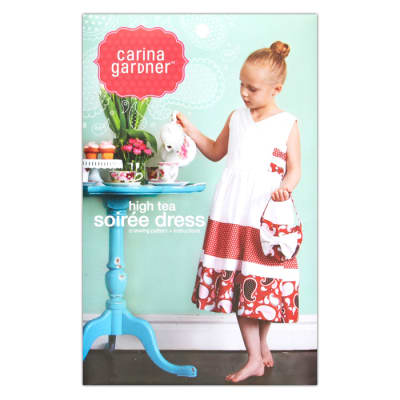 Carina Gardner High Tea Soiree Girls Dress Pattern