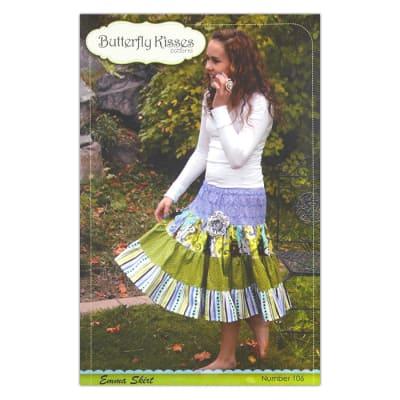 Butterfly Kisses Emma Skirt Pattern Booklet