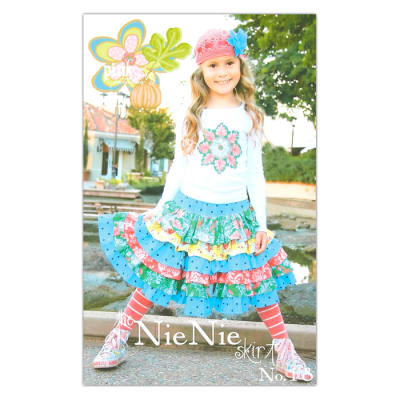 The Pink Fig Nie Nie Girls Skirt Pattern Booklet