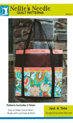 Nellie's Needle Just A Tote Pattern