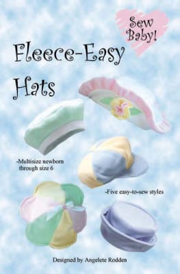 SewBaby! Fleece-Easy Hats Pattern