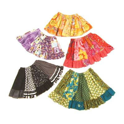 Chanana Designs Quilters Quarters Skirt Pattern Size 5-8
