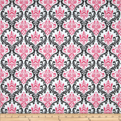 Premier Prints Madison Black/Candy Pink