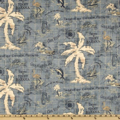 Tommy Bahama Indoor/Outdoor Island Song Ocean