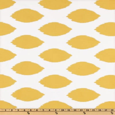 Premier Prints Chipper Slub Corn Yellow