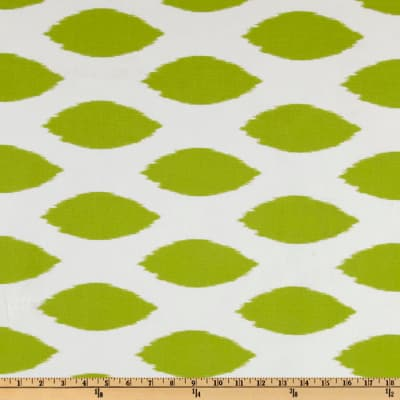 Premier Prints Chipper Chartreuse/White