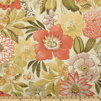 Swavelle/Mill Creek Indoor/Outdoor Jolene Floral Ivory