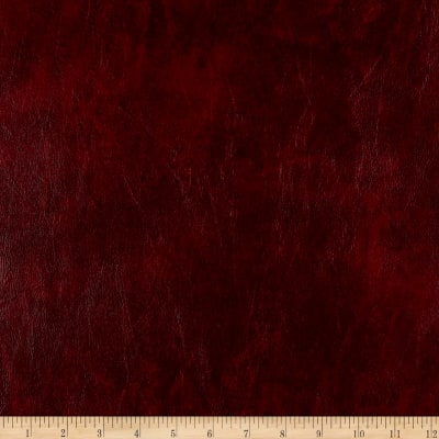 Faux Leather Caprice Wine Discount Designer Fabric
