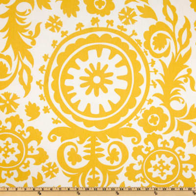 Premier Prints Suzani Twill Corn Yellow