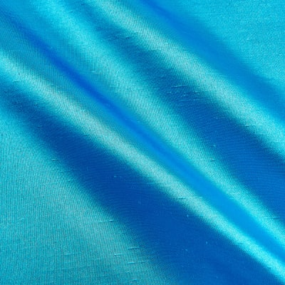 Shantung Sateen Turquoise