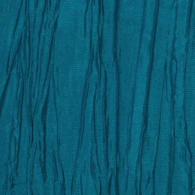 Crushed Taffeta Teal