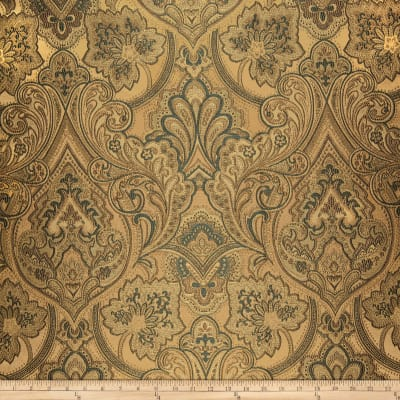 Eroica Hollyhock Damask Jacquard Antique