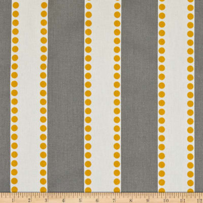 Premier Prints Lulu Stripe Twill Storm/Yellow