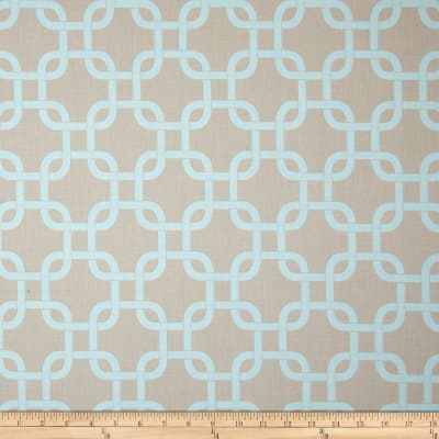 Premier Prints Gotcha Twill Powder Blue/Taupe