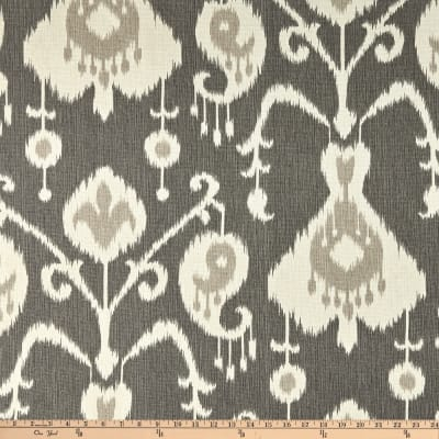 Magnolia Home Fashions Java Ikat Pewter